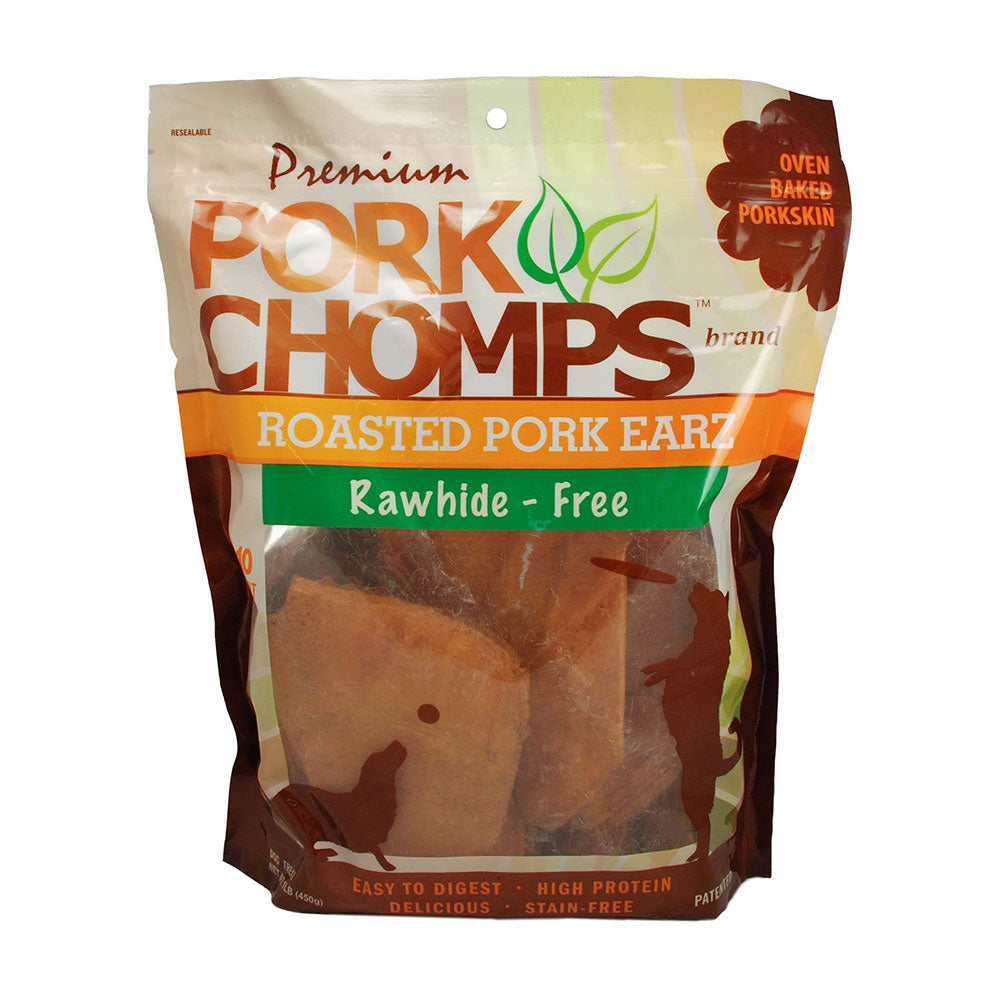 Pork Chomps™ Roasted Pork Earz Dog Treats 10 Count