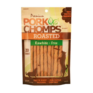 Pork Chomps™ Pork Flavor Roasted Small Twists Dog Treats 20 Count