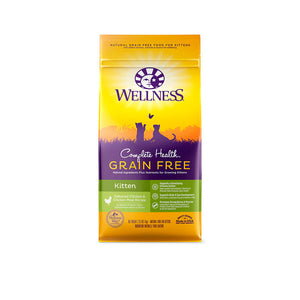 Wellness® Complete Health™ Grain Free Kitten Deboned Chicken & Chicken Meal Recipe Cat Food 2 Lbs 4 Oz