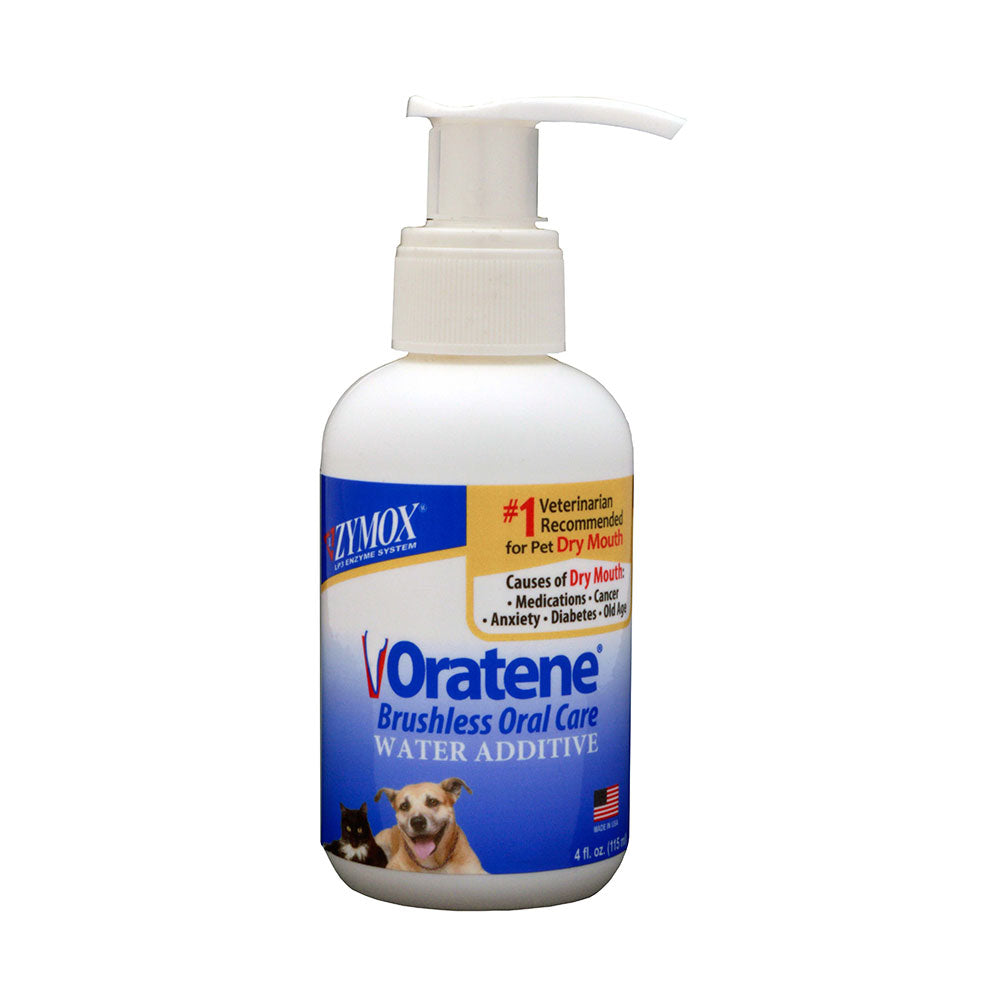 Zymox® Oratene® Brushless Oral Care Water Additive for Cat & Dog 4 Oz