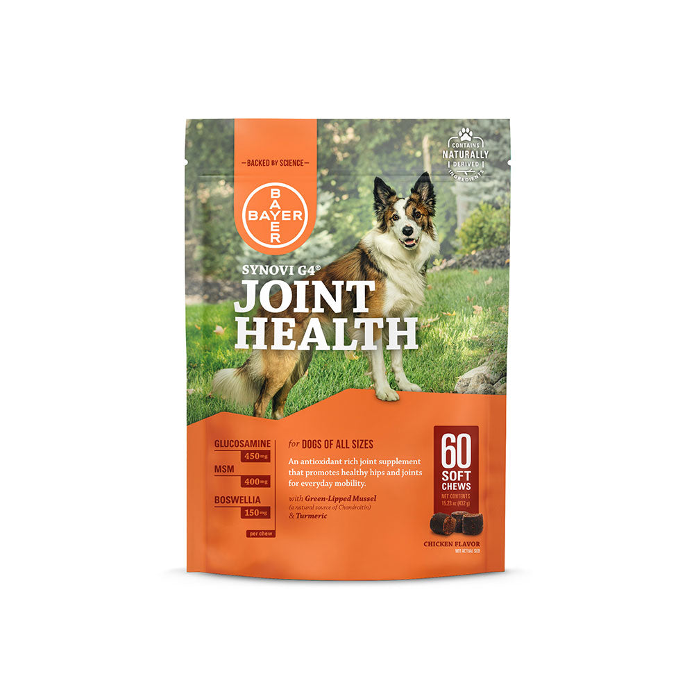 Elanco Synovi G4® Joint Health Soft Chews Dog Supplement 60 Count