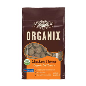 Castor & Pollux® Organix® Chicken Recipe Organic Cat Treats 2 Oz