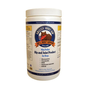 Grizzly® Joint Aid™ Mini Pellet Formula Hip & Joint Product for Dog 20 Oz