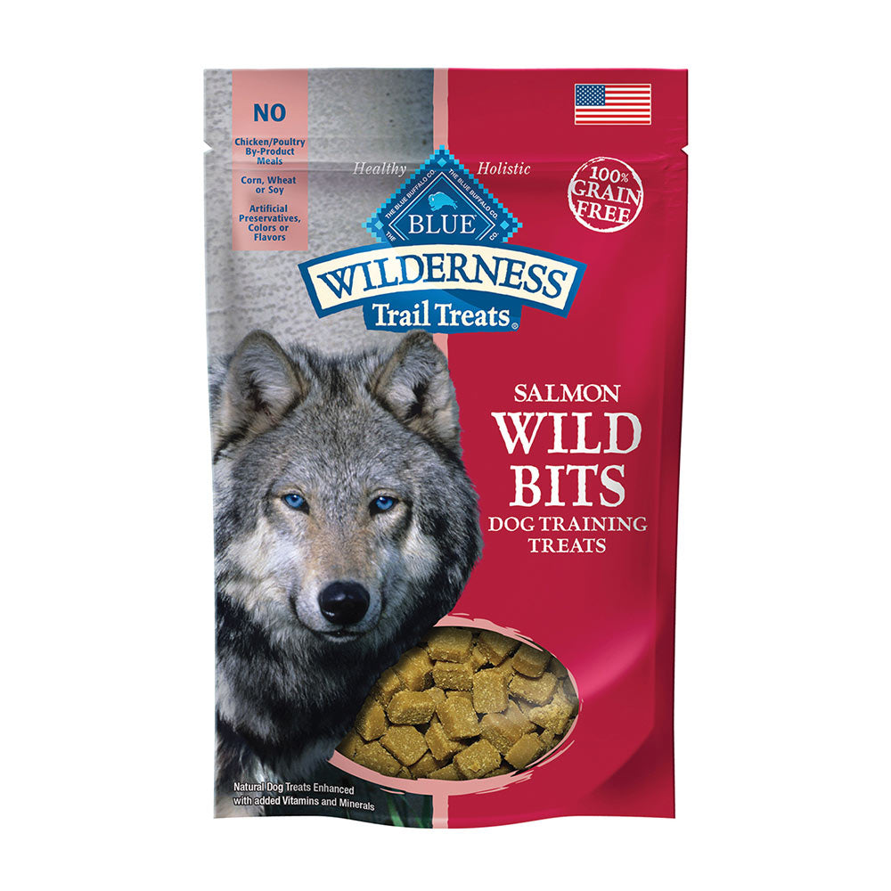 Blue Buffalo® Wilderness™ Trail Treats™ Salmon Wild Bits™ Grain Free Dog Training Treats 4 Oz