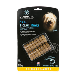 Starmark® Edible Treats Rings Dog Chews