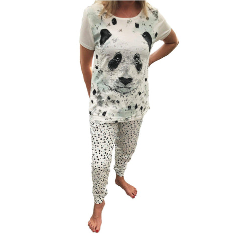 Avon Apparel Size: 14/16 Ladies Pyjama Set - Panda Design Sizes: 14 - 24