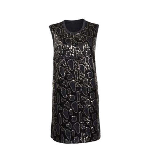Image of Avon Apparel Women's Sleeveless Sequin Tunic Dress - Size 10-12