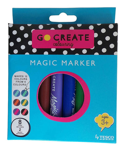 Go Create Stationery Go Create Magic Marker Pens - (Pack 8 Pen's)