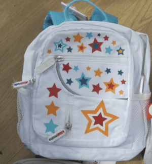 Kiddimoto Children's Accessories Stars Kiddimoto Small Toddler Back Packs