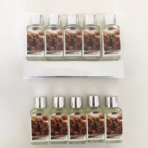 Laguna Lifestyle Fragrance Oil Copy of 5 x Wax Lyrical Fragrance Scented Oils- Silver Set