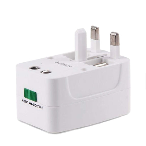 Laguna Lifestyle Universal Travel Adapter 1 x Universal International World Wide Travel Adapter Universal World Wide Travel Adapter