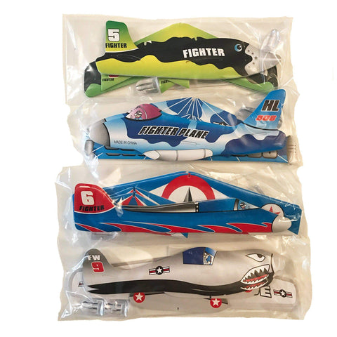 Tesco Party 24 Flying Plane Gliders Ideal Party Bag Fillers Children Toys Game 12 Packs x 2