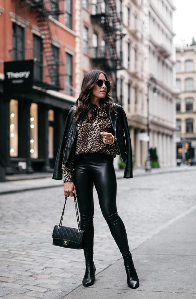leather leggings outfit