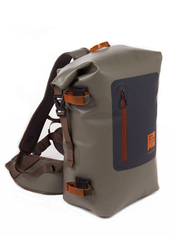Fishpond Wind River Roll-Top Backpack Gravel - FASANIS