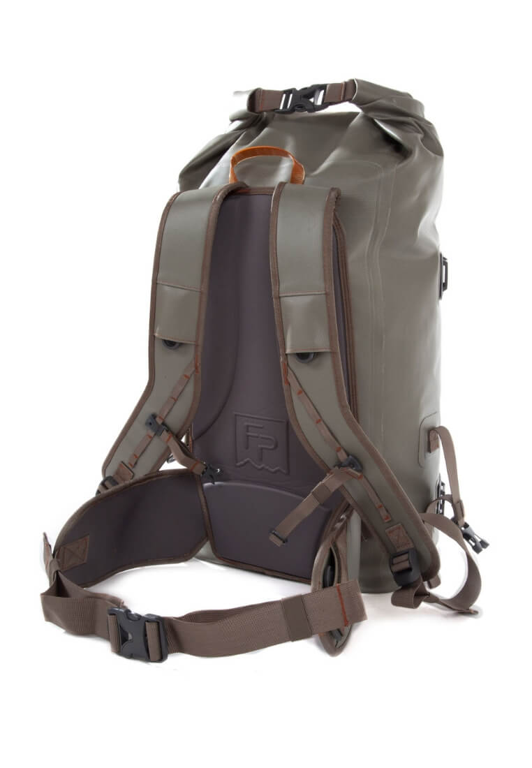 Fishpond Wind River Roll-Top Backpack Gravel Rucksack - FASANIS