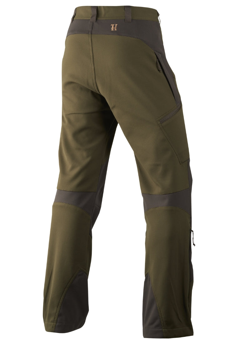 Härkila Lagan Hose Willow Green/Deep Brown Hose - FASANIS
