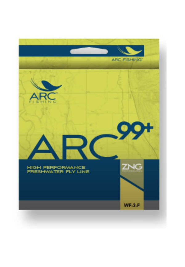 ARC 99+ WF 8 Fliegenschnur - ARC Fishing - FASANIS