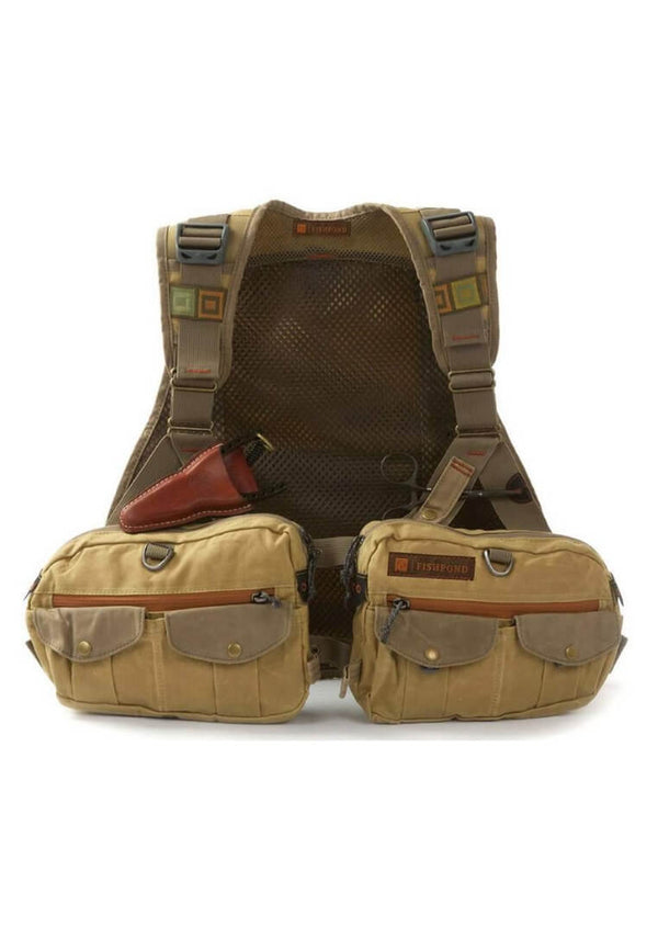 Fishpond Vaquero Tech Pack Earth (Waxed) Fliegenweste - FASANIS