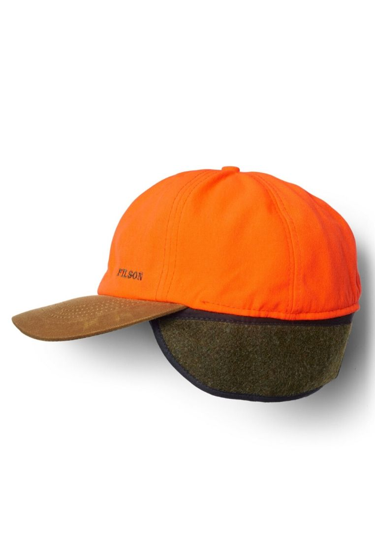 Filson Insulated Blaze/Tin Cloth Cap