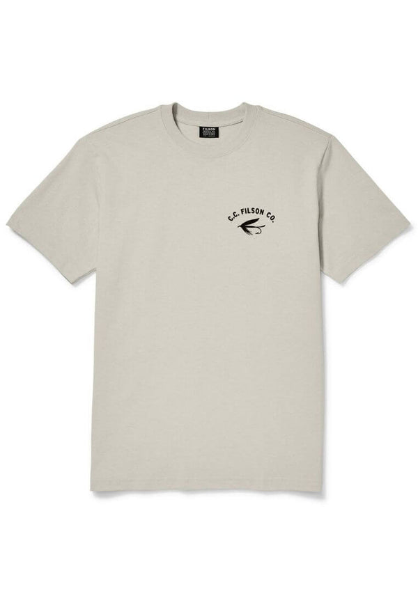Filson Outfitter Graphic T-Shirt Light Stone T-Shirt - FASANIS