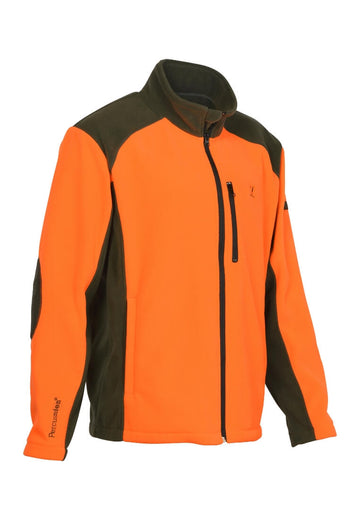 Percussion Cor Fleece Jacke Orange