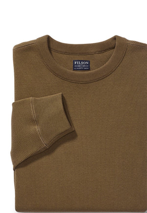 Filson Waffle Knit Thermal Crew-Neck Shirt / Pullover Pullover - FASANIS