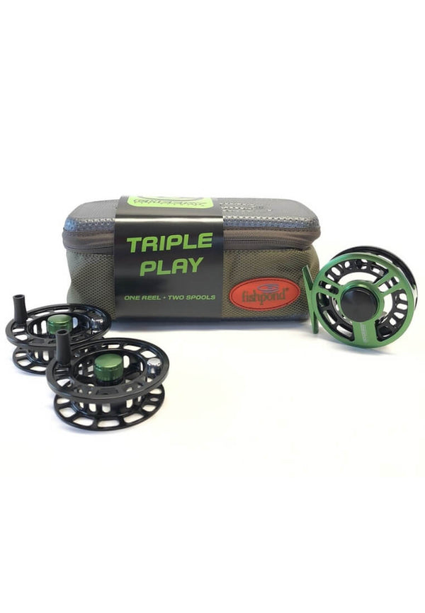 Cheeky Boost Triple Play Fly Reel and Spool Bundle - FASANIS