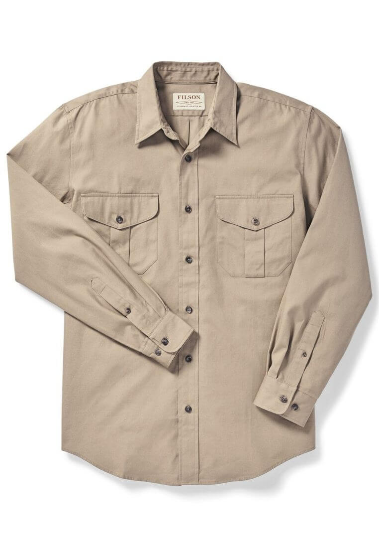Filson Safari Cloth Shirt Hemd - FASANIS