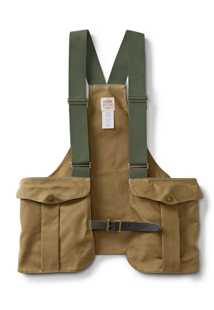 Filson Tin Cloth Game Bag Weste - FASANIS