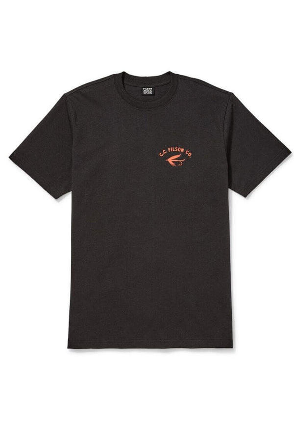 Filson Outfitter Graphic T-Shirt Faded Black T-Shirt - FASANIS