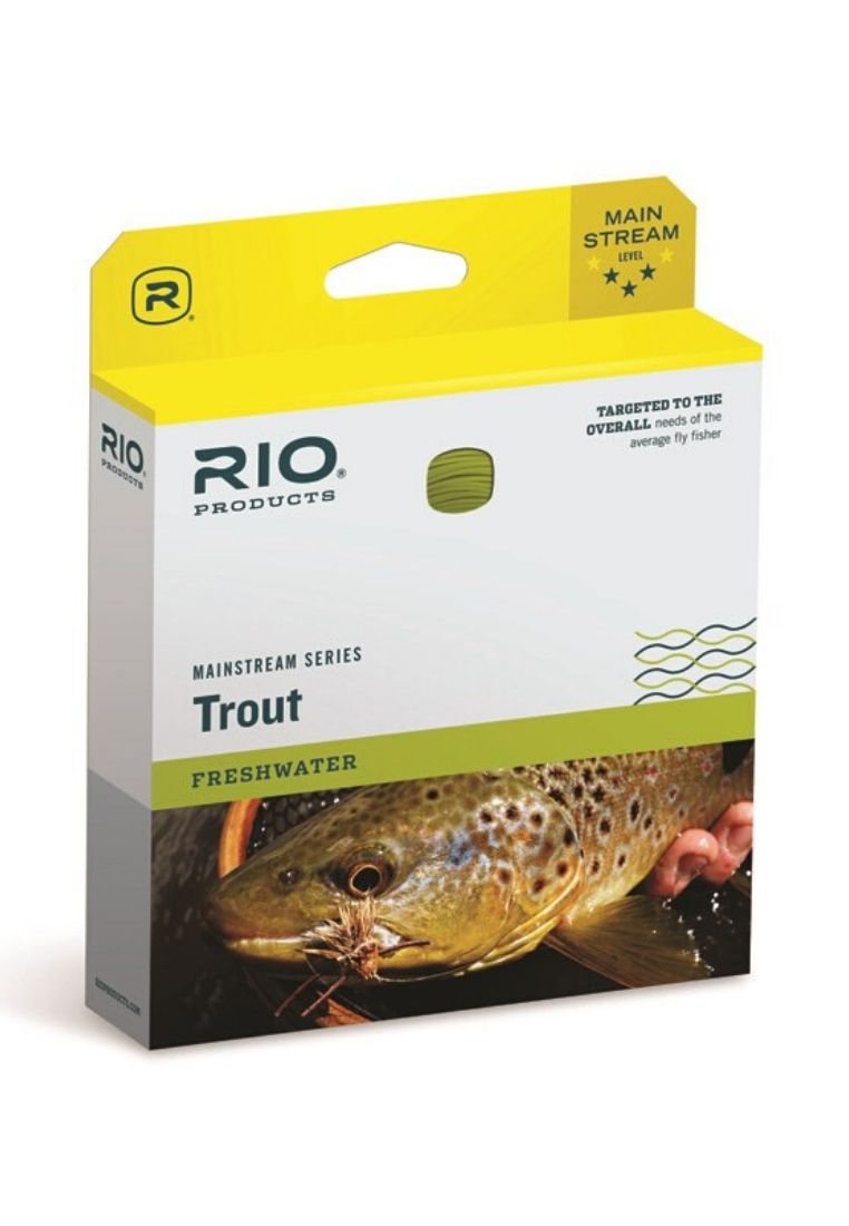 RIO Mainstream Trout WF Fliegenschnur - FASANIS