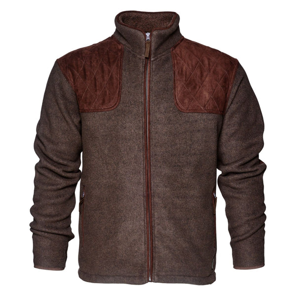 Seeland William II Fleecejacke Moose brown