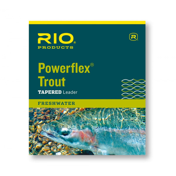 RIO Powerflex Trout Vorfach Fliegenvorfach - FASANIS