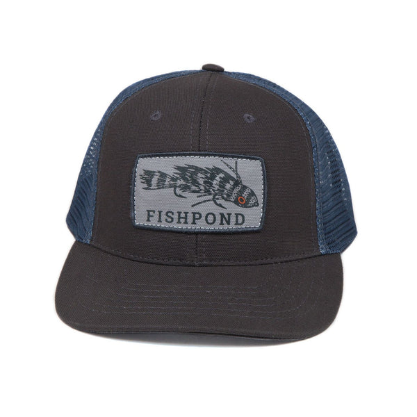 Fishpond Meathead Hat - Charcoal/Slate Cap - FASANIS