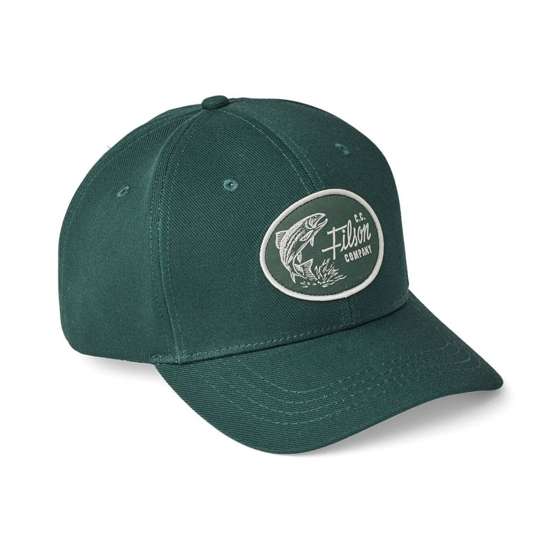 Filson Denim Logger Cap Hunter Green Cap - FASANIS