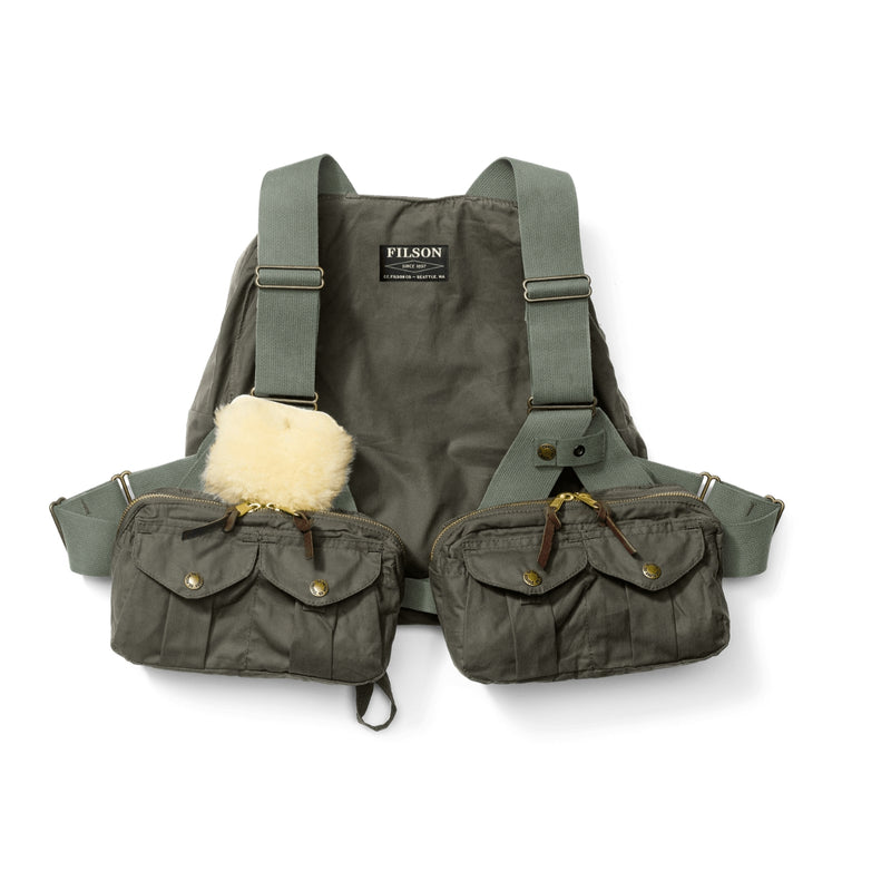 Filson Foul Weather Fly Fishing Vest Fliegenweste - FASANIS
