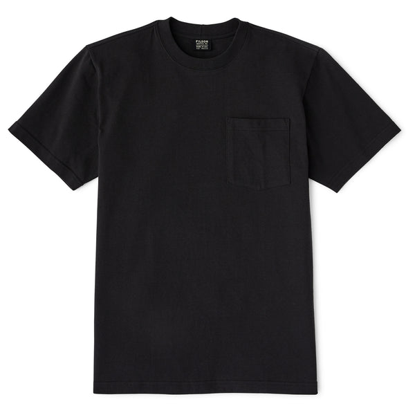 Filson S/S Outfitter Solid Pocket T-Shirt Faded Black - FASANIS