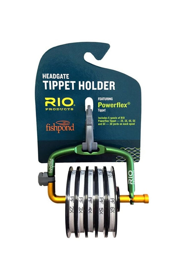 RIO-Fishpond Headgate mit 2X-6X Powerflex Tippet