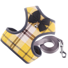 Load image into Gallery viewer, Plaid Harness & Lead Set