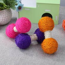 Load image into Gallery viewer, Sisal Hemp Dumbbell Toy