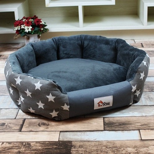Stylish Canvas Pet Bed