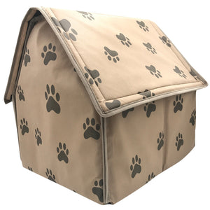Folding Small Footprint Pet Bed