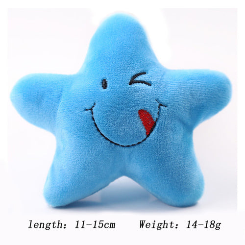 Stars Plush Chew Toy