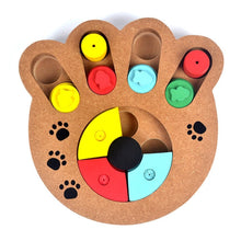 Load image into Gallery viewer, Paw Puzzle Plate Game - IQ Training Toy