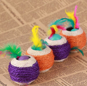 Sisal Rope Trapped Ball Toy