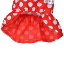 Load image into Gallery viewer, Classic Red Polka-Dot Dress