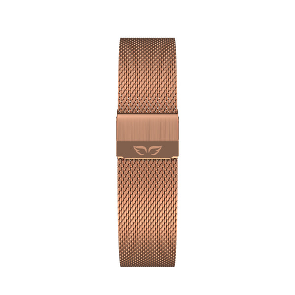 My Rose-Noisette Angel + Rosegold Mesh Band