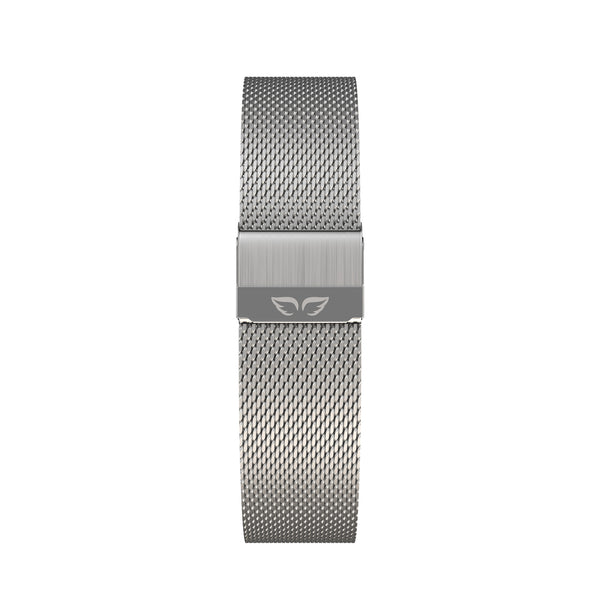 My Silver-Noisette Angel + Silver Mesh Band
