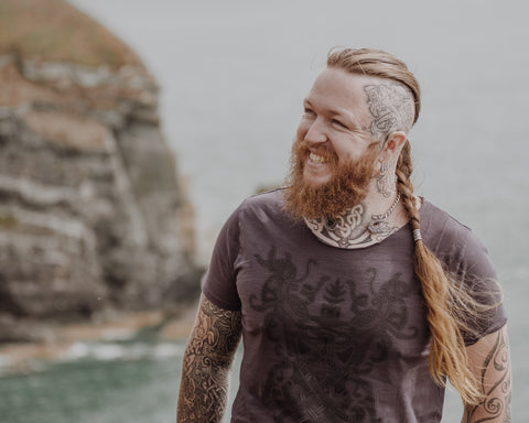 Sean Parry of Sacred Knot Tattoo, founder of Northern Fire