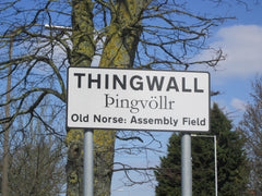 Thingwall, Nordic place name in the wirral